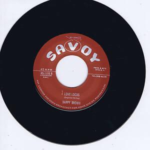 NAPPY-BROWN-LOVE-LOCKS-DON-039-T-BE-ANGRY-Top-10-RHYTHM-amp-BLUES-JIVERS-NEW