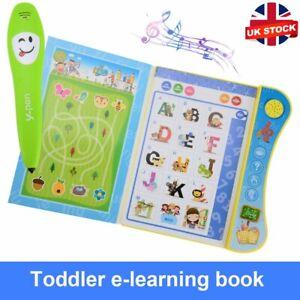 Interactive Livre apprentissage jouets éducatifs enfants pour 3+ ans bébé enfants