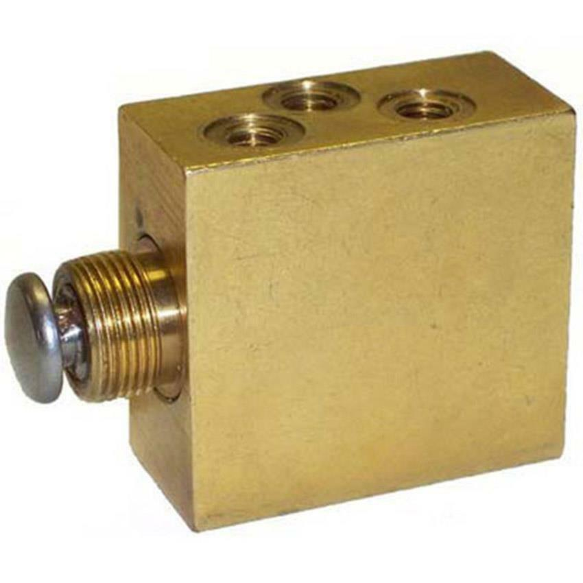 Ersetzt Clemco 20026 Sandblast Schrank Fußpedal Ventil für Schrank Blaster