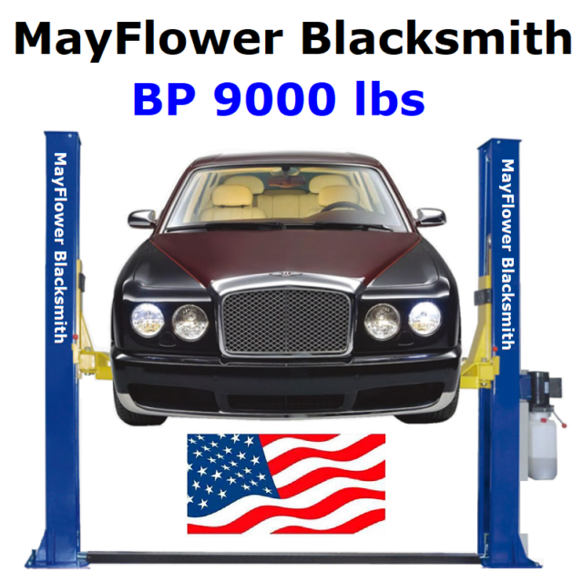 Capacity Car Vehicle Lift Great Quality CR Two Post L2900 110V Auto Lift 9,000 lb 12 Month Warranty