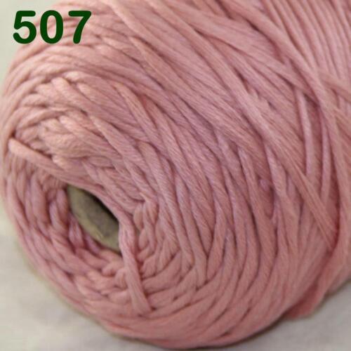 C Hot Sale 400gr Cotton Soft Cone Chunky Bulky Wrap Shawl Hand Knitting Yarn 07
