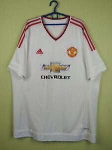 456da2b5d Manchester United jersey shirt 2015 2016 Away adidas football soccer ...