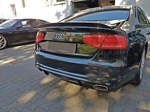 Details Zu Audi A8 S8 Plus Heckspoiler Rs Deck Lid Spoiler W12 V8 D4 4h