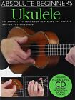 Absolute Beginners: Ukulele (book and CD) by Steven Sproat (Paperback, 2007)