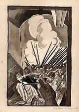Madame de LAMBALLE - EDY LEGRAND - RÉVOLUTION FRANCAISE - Aquarelle signée 1922