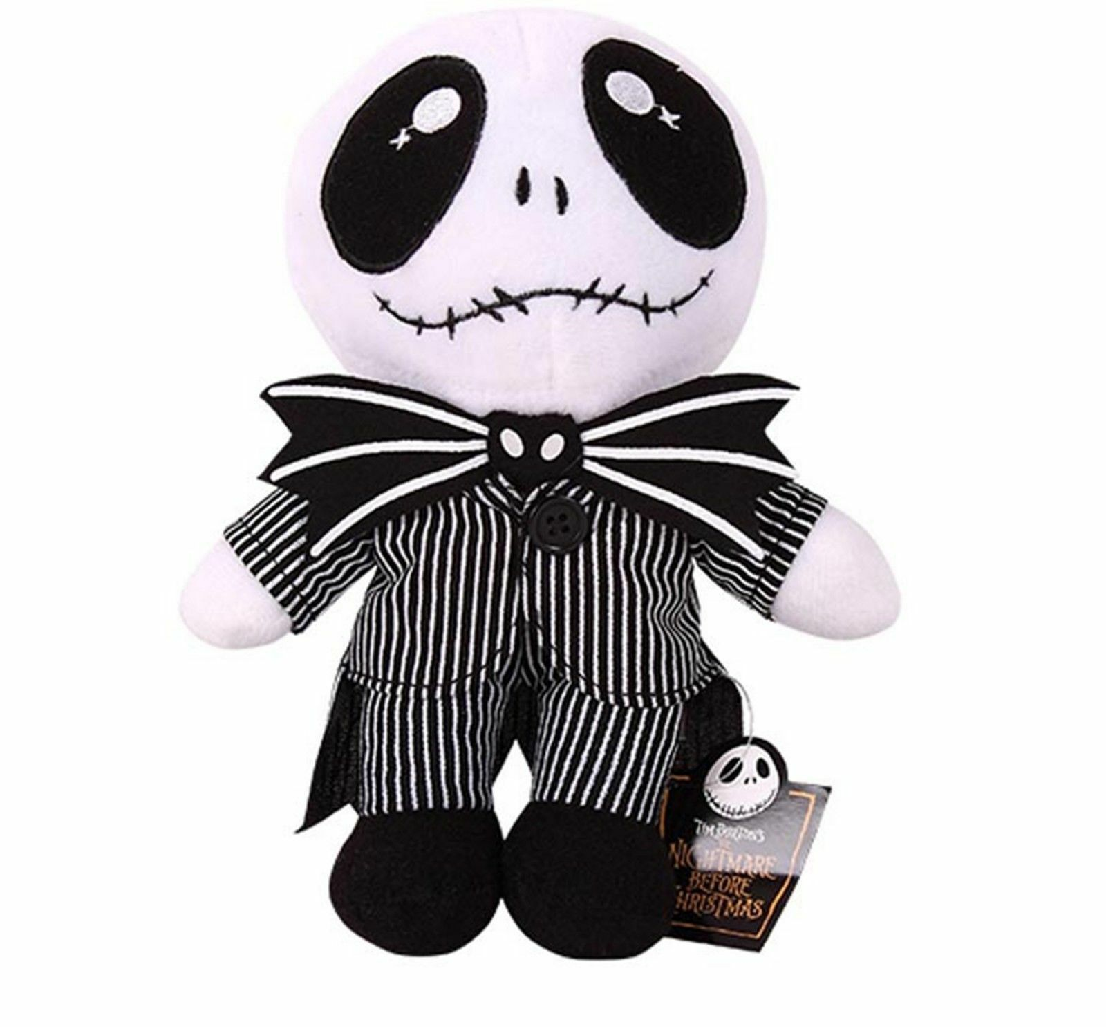 THE NIGHTMARE BEFORE Christmas Baby Jack Skellington Plush Doll ...