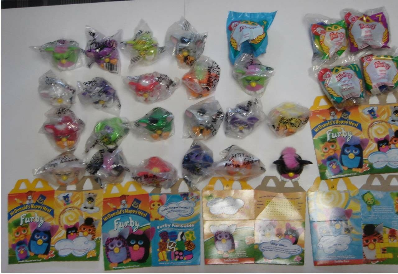 40 TY Babies - Plush McDonald's Happy Meal Toy - Vintage Collectible