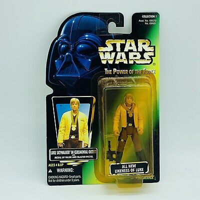 Star Wars Luke Skywalker Ceremony Action Figure MOC POTF Power of the Force Toy!