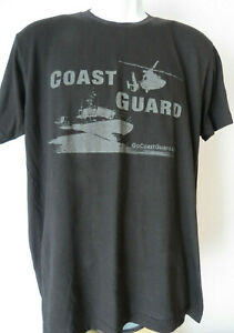 US-Coast-Guard-T-Shirt-Black-United-States-America-Armed-Go-Men-039-s-FITS-MEDIUM