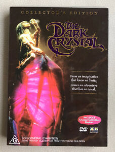 The-DARK-CRYSTAL-Collector-039-s-Edition-DVD-R4-Like-New