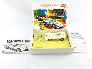 Monogram-1965-Chaparral-1-24-Model-Racing-Slot-Car-Kit-SR2413-Super-X-220-Motor