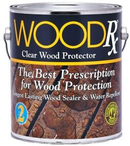 Details About 1 Gal Wood Water Repellent Clear Sealer Wet Dry Sealant Deck Fence Waterproofing
