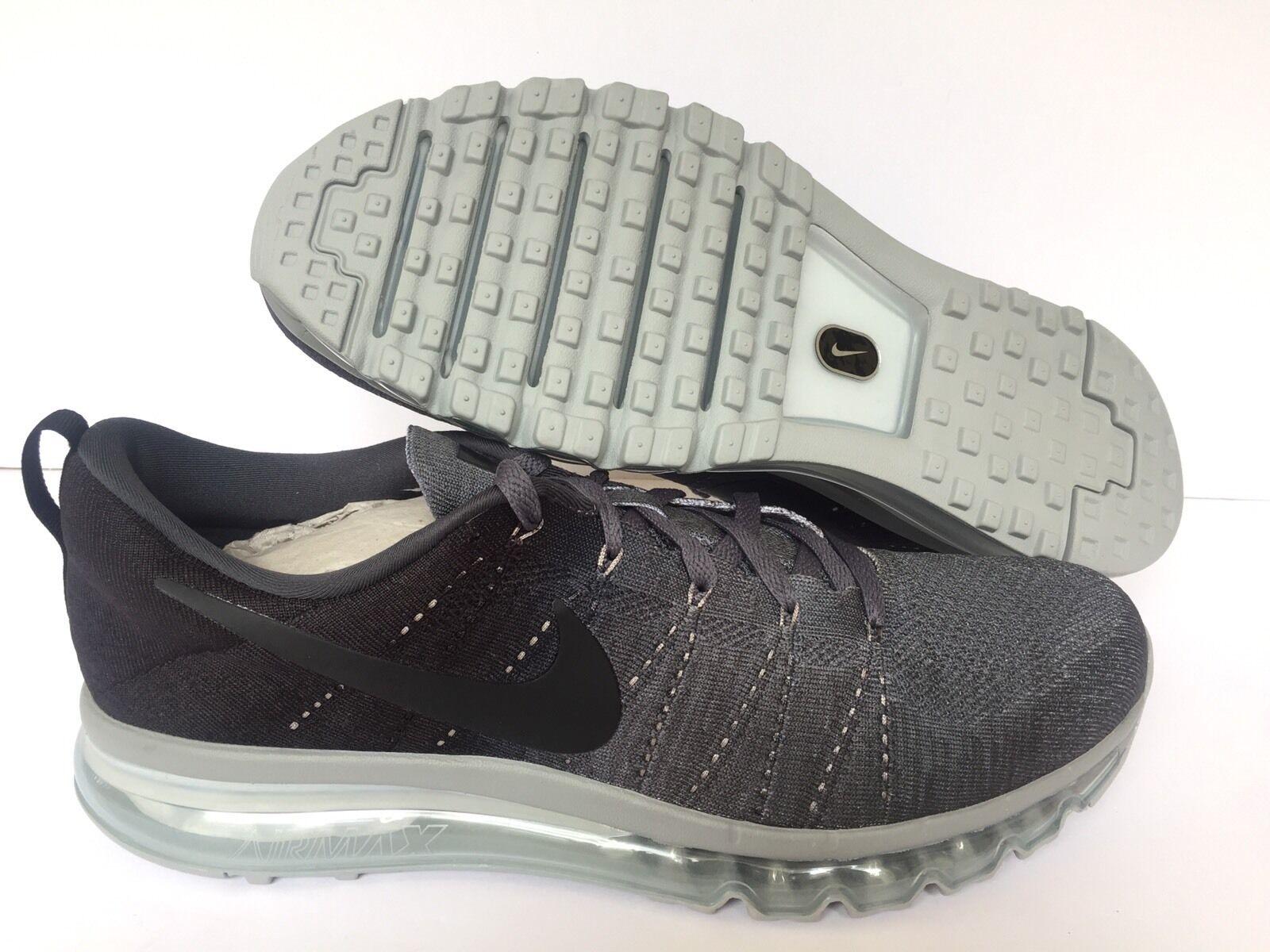 Nikeid air max flyknit - nero / grigio - flyknit 845615-992. noi uomini sz 13 04c7f5