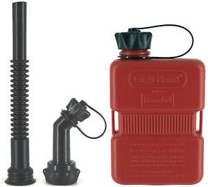 FuelFriend-PLUS-1-Liter-Benzinkanister-Reservekanister-Jerry-Can-Fuellrohr-SET