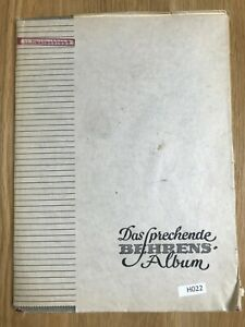 H022 Postage Stamp Collection, Germany,  album,