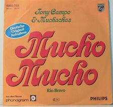 """[F221] 7""""SINGLES TONY CAMPO & MUCHACHAS -MUCHO MUCHO- RIO BRAVO PHILIPS 6003703"""