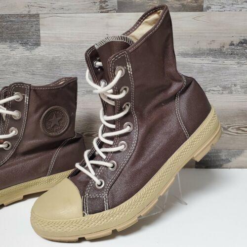 Converse High Top Sneaker Brown Chocolate Chuck Ta