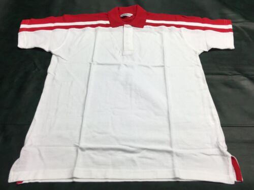 Finden /& Hales LV328 Homme 100/% Coton Pique Polo T Tee shirt blanc manches courtes