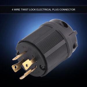 30A-125V-250V-Twist-Lock-Male-Plug-for-RV-Camper-Generator-Electric-Cord-Plug