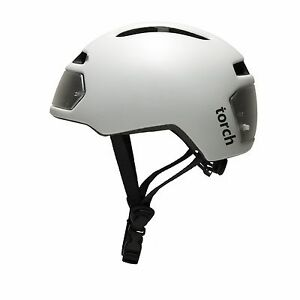 Torch T2 Bike Helmet With Integrated Lights Ebay