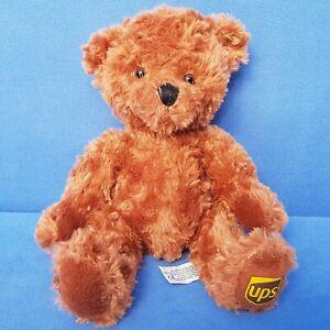 UPS-BAR-TEDDY-SUKI-STOFFTIER-25-CM-WERBUNG-FIGUR-BEAR-BRAUN