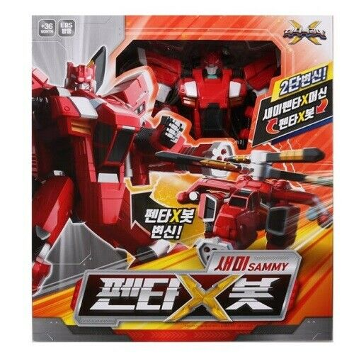 Miniforce Penta X Semibot Ranger Transformer Robot Halicopter Hobbies Toy_NK