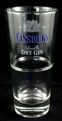 Finsbury London Dry Glas Longdrinkglas Gin Bar Kneipe geeicht 2cl 4cl NEU