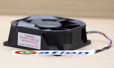 Applicable for SUNON MB40201V2-000C-F99 12V 0.60w 12V  Cooling Fan 40x40x20mm