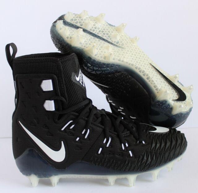 393b5214a54 Nike Football Cleats Size 12 Men s Force Savage Elite TD Black White ...