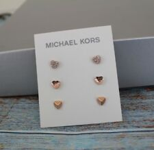 5222c13794bc0 item 3 NWT Michael Kors Rose Gold-tone 3-pc. Set Pavé Heart Stud Earrings  MKJ7020791 -NWT Michael Kors Rose Gold-tone 3-pc. Set Pavé Heart Stud  Earrings ...