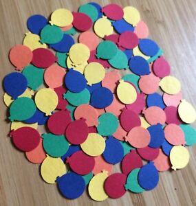100-Rainbow-Mix-Coloured-Balloon-embellishments-card-making-scrapbooking-crafts