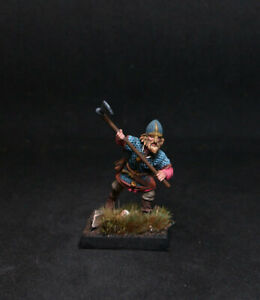 BMA-PRO-PAINTED-VIKING-WARRIOR-Halstein-28mm-SAGA-Dark-Ages