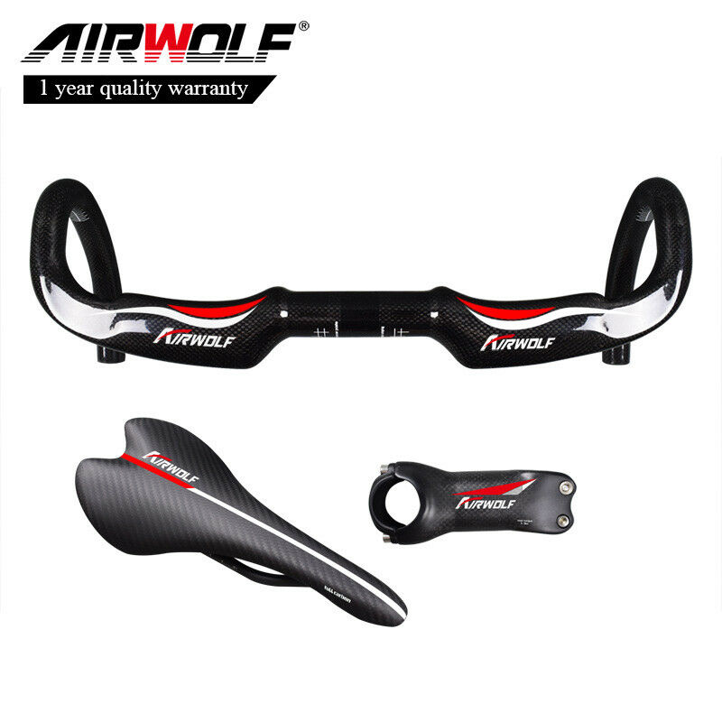 Carbon Fiber Bicycle Racing Drop Aero handle Bar Road Bike Handlebar Ultralight