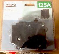 Murray Crouse-hinds Mp2125p Circuit Breaker 2 Pole 125amp 240v Seimens 125a