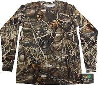 Drake Waterfowl Ls Long Sleeve Layering Tee T-shirt Max 4 Camo Small S
