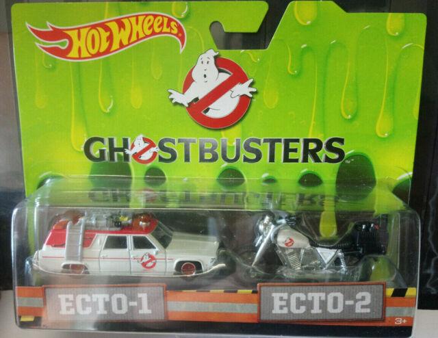 Hot Wheels Ghostbusters Pack Ecto1 Ecto 2 (NG112)