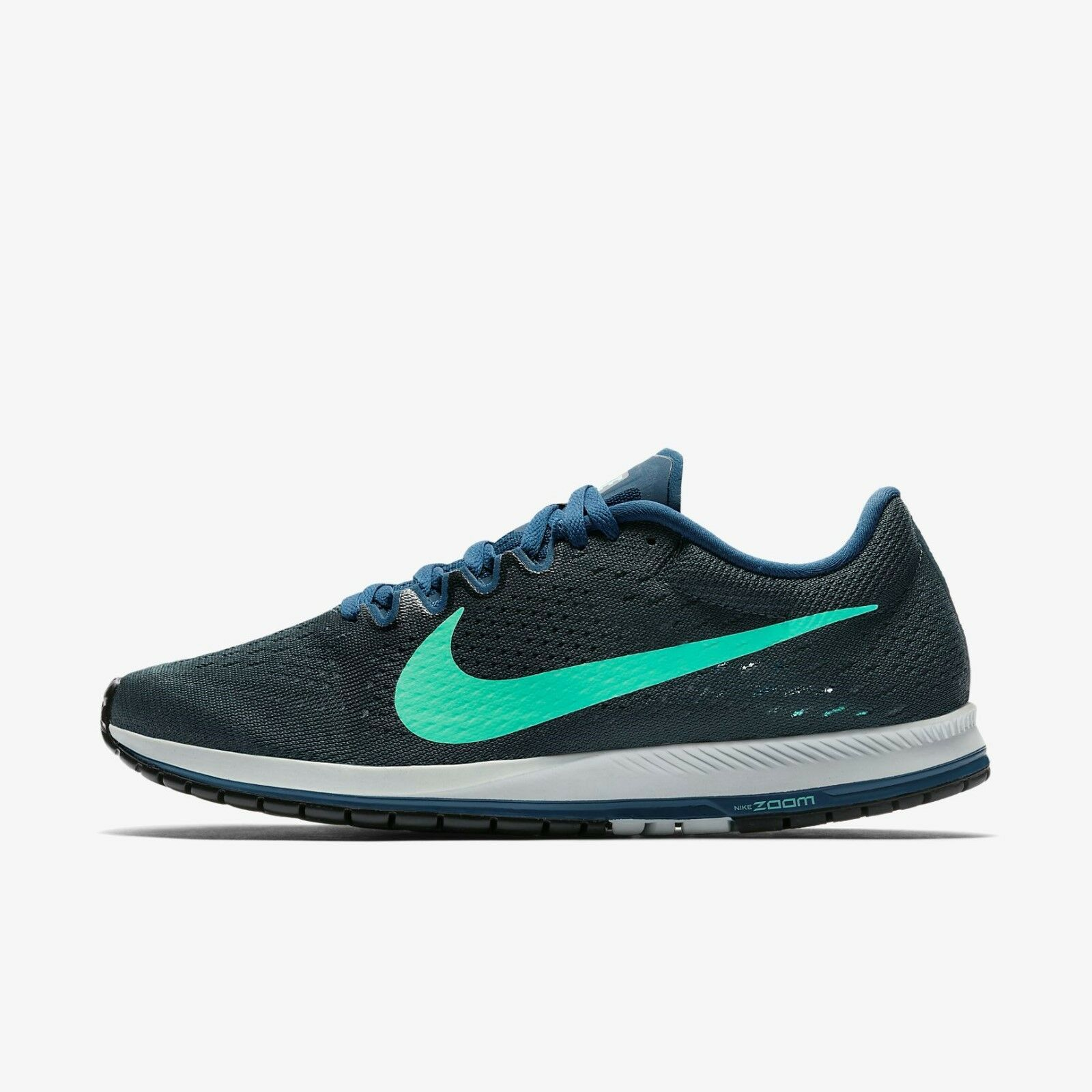 NEW Mens Nike Zoom Streak 6 831413 302 Running Shoes Deep Jungle/Blue Force Seasonal clearance sale