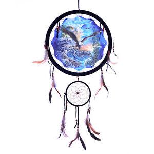 13 Quot Hidden Bald Eagle Dream Catcher Wall Hang Decor