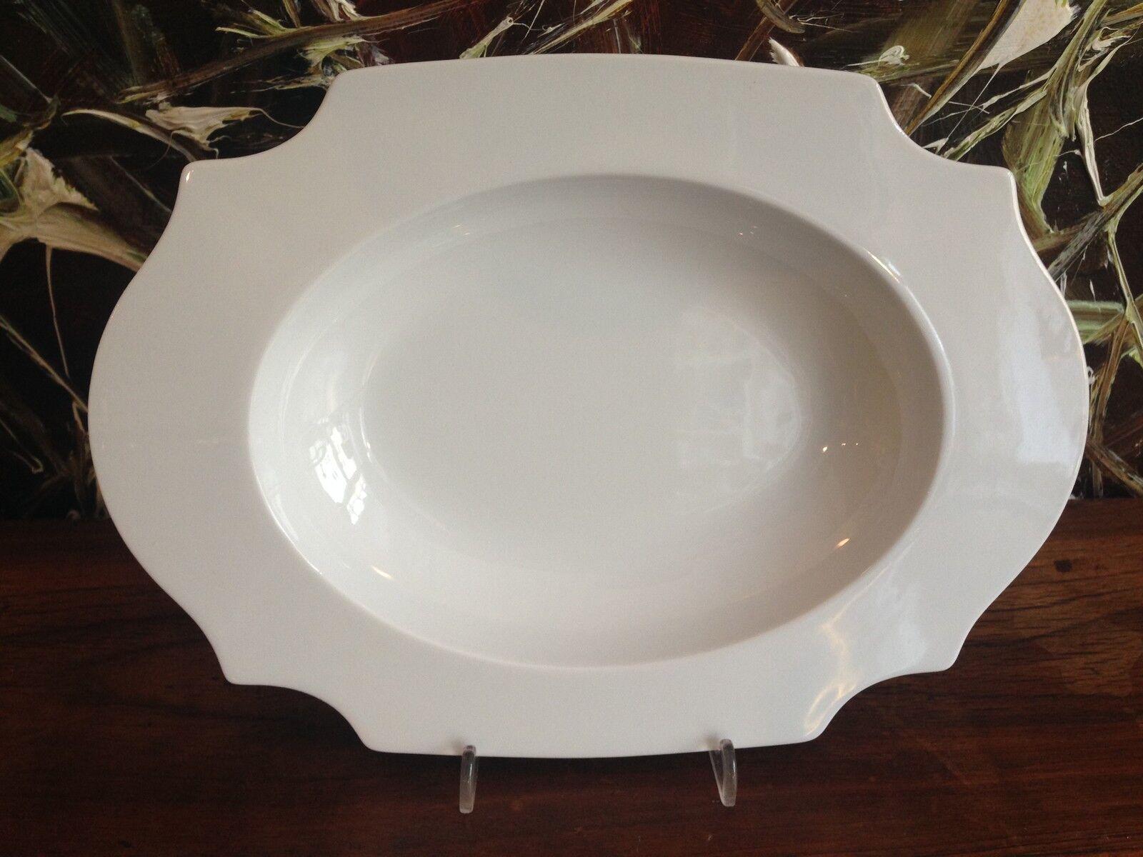 REICHENBACH Taste in weiß  PAOLA NAVONE NAVONE NAVONE  Teller tief oval 27,5cm x 20cm NEU | Schönes Design  f63a0b