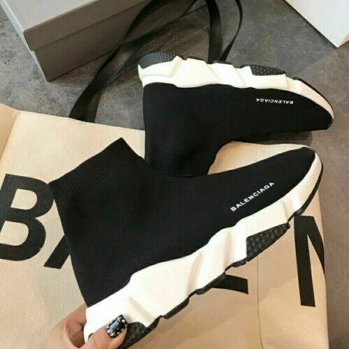 Balciaga Kids Adult Designer Knit Runner Shoes Speed Sock Casual Trainer Sneaker