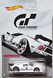 Image Is Loading Hot Wheels Gran Turismo  Ford Gt White