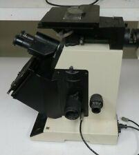 Buehler Unitron Unimet Inverted Microscope Metallograph Nt21