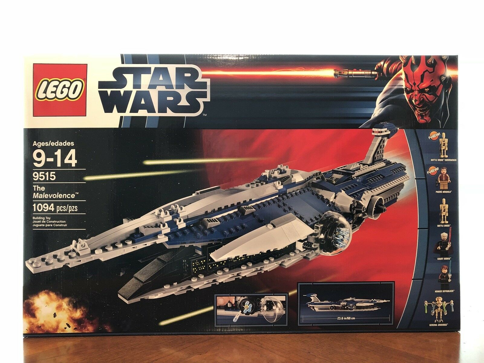 LEGO 9515 Star Wars The The The Malevolence (Discontinued by manufacturer) d3e44a
