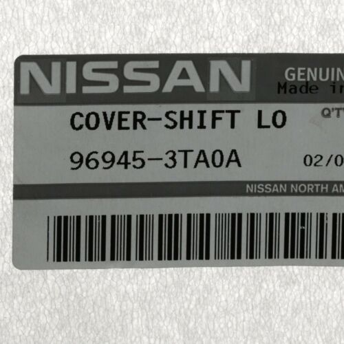 Genuine Nissan 2015-2018 Altima Shift Interlock Cover Cap 96945-3TA0A