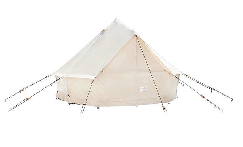 NEW    16ft Canvas 10.10oz Bell Tent, 10.10oz Canvas Sunforger Canvas, Wall Tent, Glamping Tent c2aa99