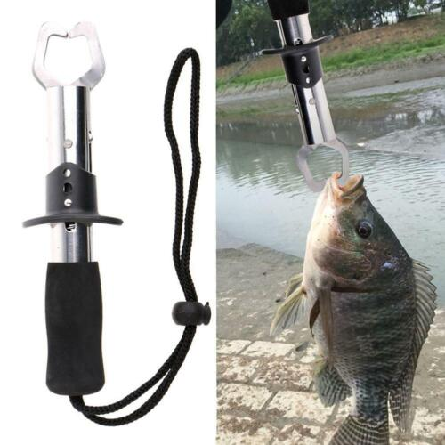 Stainless Steel Fish Gripper Fishing Keeper Lip Grabber Keeper Tackle Control