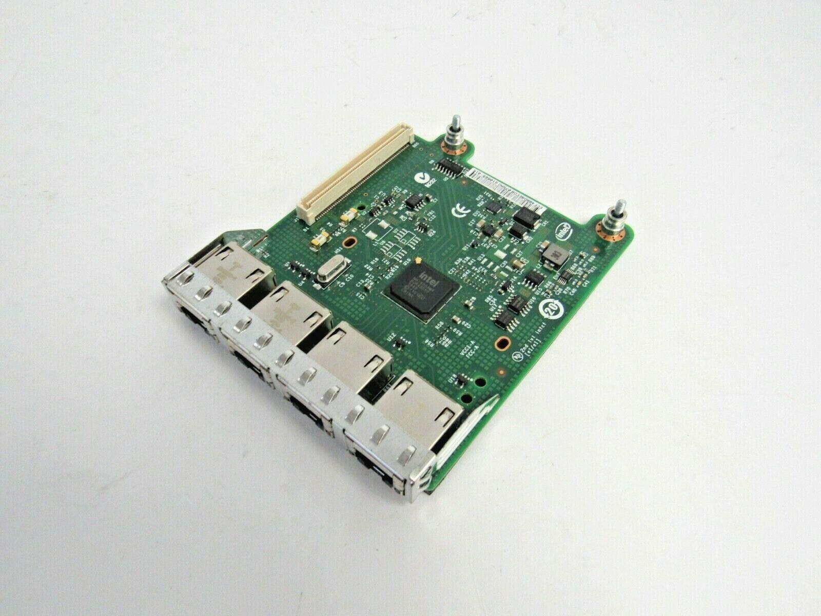 Dell R1FXC Intel i350 QP Network Card 4-Port RJ-45 PCIe x8 A-12