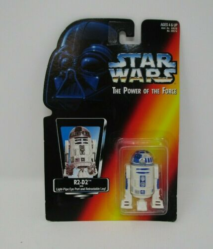 R2-D2 Droid 1995 Star Wars Power of the Force Power of the Force Rouge Comme neuf on Card
