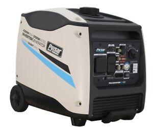 Pulsar-4500-Watt-Portable-Inverter-Generator-Electric-Start-w-Remote-Control