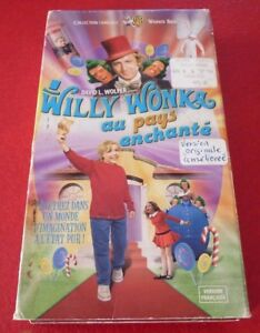 VHS-French-Movie-Willy-Wonka-au-Pays-Enchante-Charlie-et-la-Chocolaterie